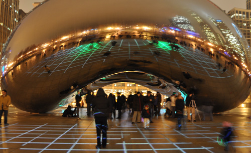 Cloud Gate, Chicago IL